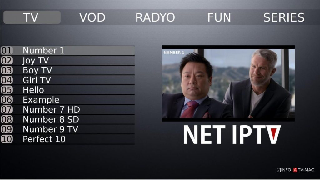 NET IPTV - IPTIVI Subscription Service Provider